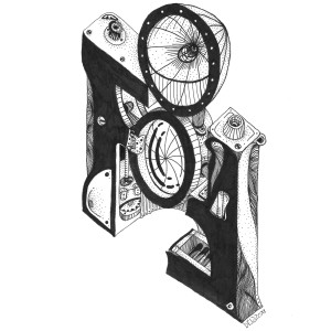 L'originale china su carta di bRIZZO per Officine della Fotografia